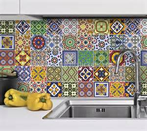 Home 187 tile stickers 187 talavera tile decals pack of 48