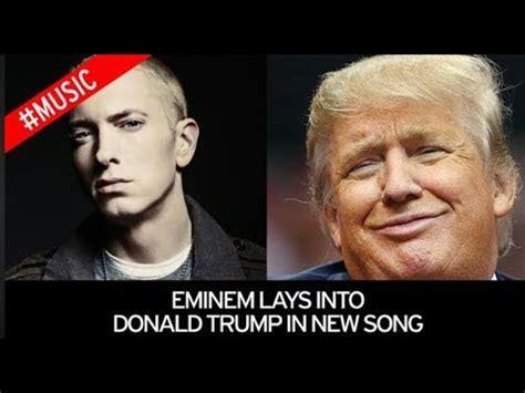 eminem dan trump eminem dissing donald trump at bet hip hop awards