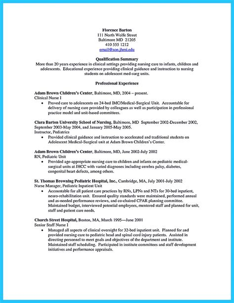 crna resume exles crna resume to get noticed by company