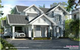 european style home plans semi european style beautiful villa kerala home design