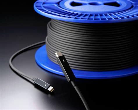Kabel Yunitomo Erste Optische Thunderbolt Kabel Zeigen Sich Hardwareluxx