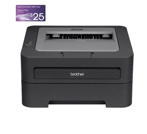 Coles Group Gift Card Discount - free 25 coles myer gift card when purchase with brother hl 2240d laser printer