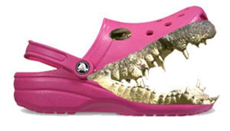 Killer Heels Might Poke Your Eye Out by Killer Crocs The Summer S Fugliest Shoes Banned