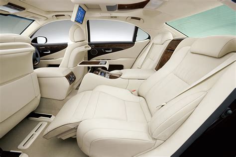 Lexus Ls 460 Reclining Back Seat by