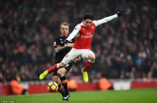 arsenal defenders arsenal news alexis sanchez scores controversial goal
