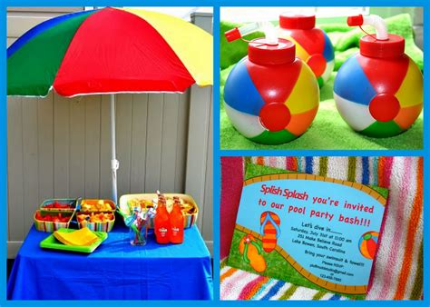 pool party decorations pool party design ideas images