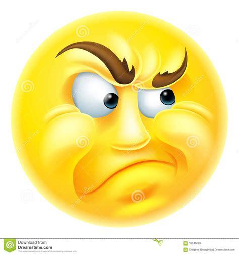 imagenes de emoji enojado emoticon enojado o celoso emoji ilustraci 243 n del vector