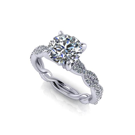 1 Carat Engagement Ring by Carat Infinity Engagement Ring Jewelry Designs