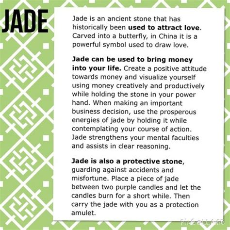 gemstones meanings gemstones and jade on pinterest
