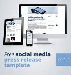 social media news release template social media press release on