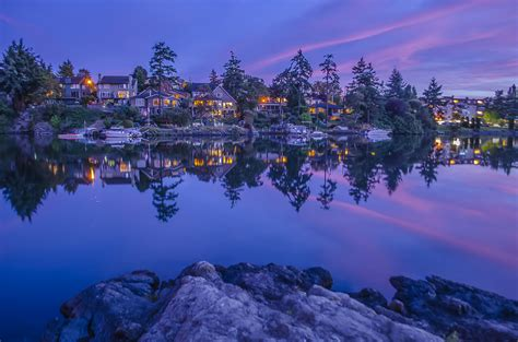 3d wallpaper vancouver blue hour on the gorge jay carrieres flickr