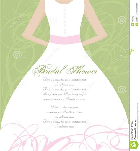 Wedding Shower by Bridal Shower Invitation Stock Vector Image Of Invite
