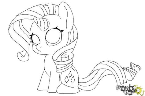 mlp chibi coloring pages how to draw chibi rarity from my little pony friendship is