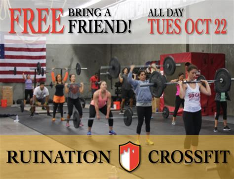 Detox Program Bring A Friend by Bring A Friend Tuesday October 22nd Ruination Crossfit