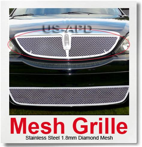 ebay touch table ls for 00 02 lincoln ls stainless steel mesh grille insert ebay