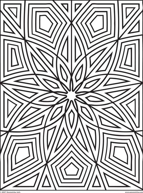 printable coloring pages geometric patterns printable geometric patterns designs print get your free