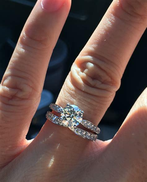 Tiffani Set Tifani harmony engagement ring jewellery australia