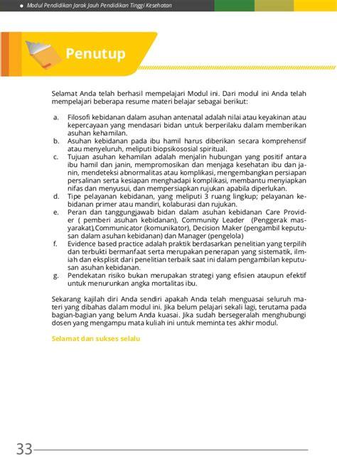 Abc Asuhan Antenatal Ed 4 m4 konsep dasar asuhan kehamilan
