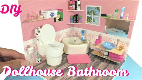 dollhouse toilet diy miniature dollhouse bathroom toilet sink