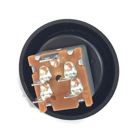 3 speed fan control switch plastic knob and bezel 3 speed rotary heater fan switch