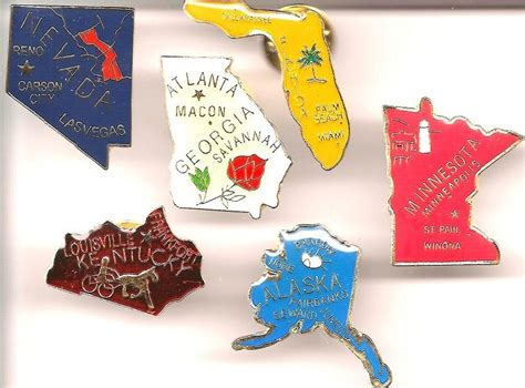 pin by sheila states on for the home decor design i state map lapel pins