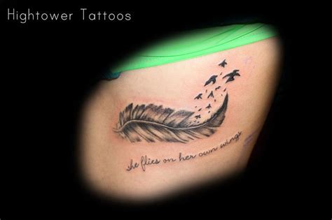 brave tattoos with brave wings she flies