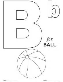 letter b coloring pages printables alphabet b coloring sheets free