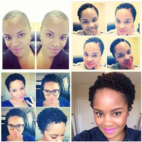 stages of growing out shaved head 1000 images about twa with style on pinterest black