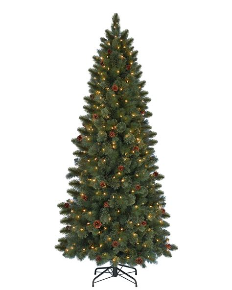 7 cashmere clear artificial christmas tree christmas