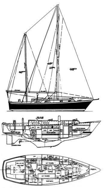 sailboatdatacom pearson  ketch sailboat