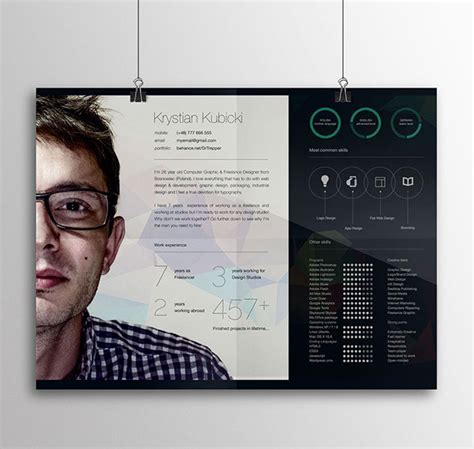 free creative resume templates 2015 10 free resume cv templates designs for creative media it web and graphic designers 2015