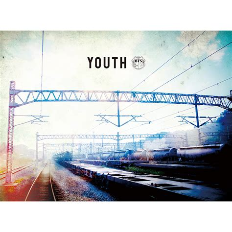 Bts Bangtan Boys Yourself E Ver Poster With official bts youth japanese album cd poster kpop mall usa
