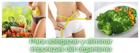 Dieta Detox 1 Dia by Dieta Depurativa Detox 1 Dia Para Despues De Las Fiestas