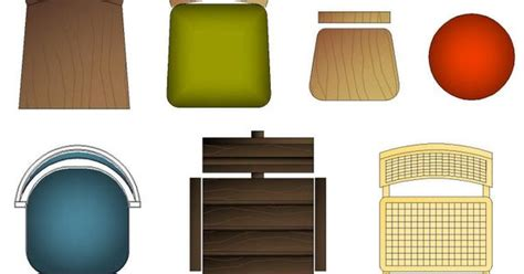 Kitchen Design Pics Cad Symbols Colour Furniture Chairs Domestic