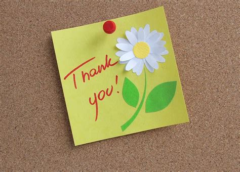 Thank You Note For The Thank You Note New Calendar Template Site