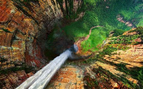 angel falls venezuela    highest uninterrupted