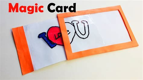 create magic card template how to make magic card diy magic card paper magic