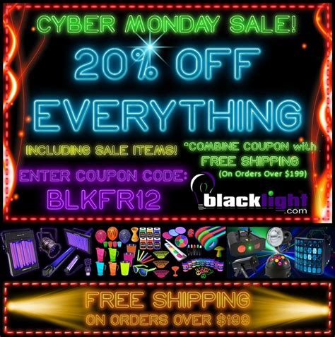 novelty lights coupon code 12 best blacklight com coupons and promos images on