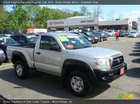 2008 Toyota Tacoma Single Cab Silver Streak Mica 2008 Toyota Tacoma Regular Cab 4x4