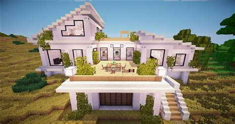 minecraft realistic house building creativity with unfiny realistic houses screenshots show your creation