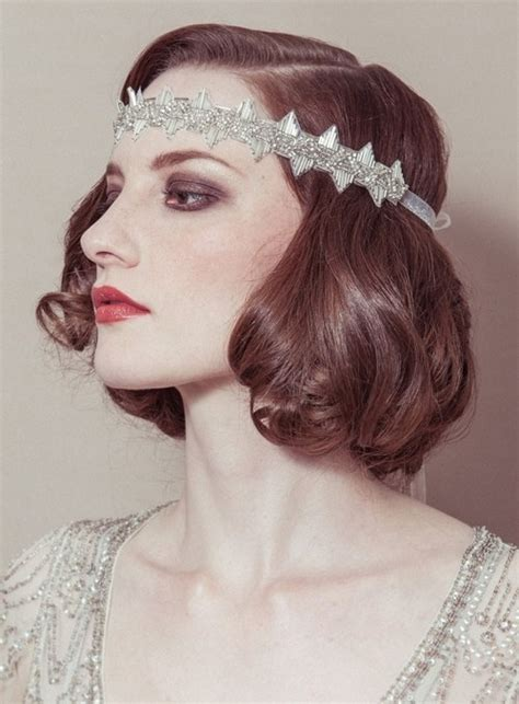 roaring twenties hair styles for with hair easy roaring 20s hairdos best 20 flapper headband ideas