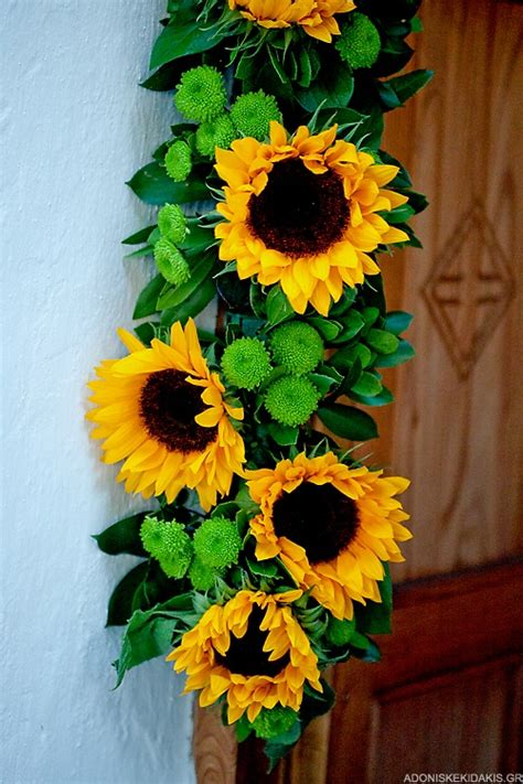 sunflower decorations for the home