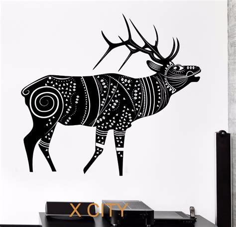 Deer Ii Sk9003 Stiker Dinding Wallsticker hitam rusa dinding decals promotion shop for promotional hitam rusa dinding decals on aliexpress