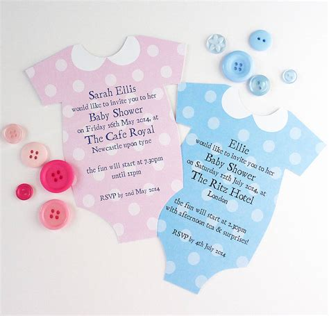 downloadable invitations uk personalised baby shower invitation by little cherub