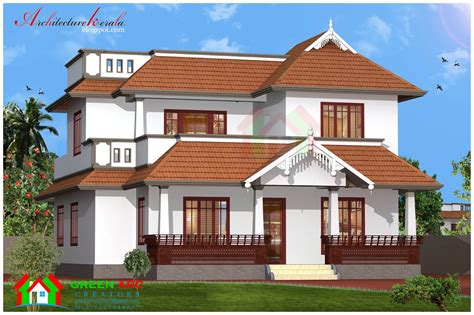 traditional style house plans traditional style kerala house plan and elevation