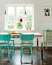 Teal Kitchen Table Great Painted Accent Furniture
