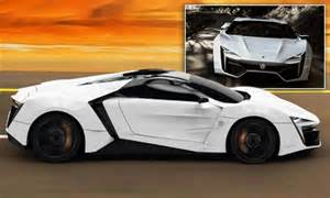 Encrusted Bugatti Lykanhypersport 163 2 2million Supercar Which Travels From 0