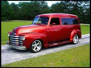 1949 chevrolet panel truck cars trucks