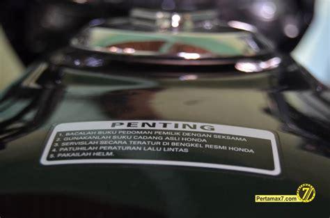 Tutup Tangki R By Ming Motor honda cb150r facelift tutup tangki rata dan velg tapak