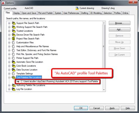 reset tool palettes autocad tool palettes and tool palette groups are lost in autocad